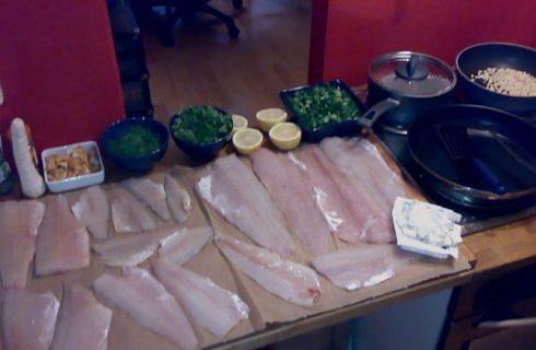 Pesce persico con pangrattato e verdure, ecco come gustarlo