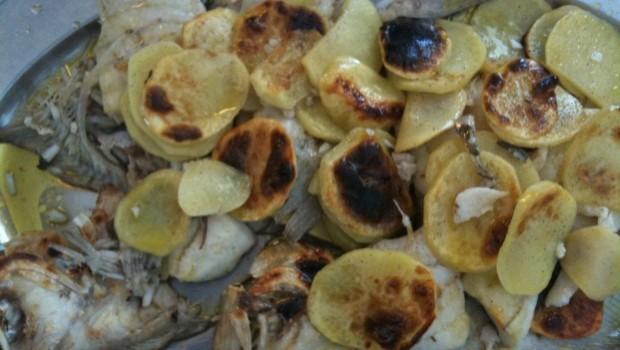 Il rombo con patate al forno, la ricetta da leccarsi i baffi