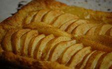 La ricetta della sfogliata di mele con crema