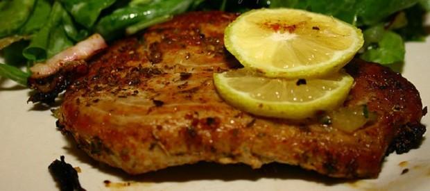 La ricetta della tagliata di tonno con verdure