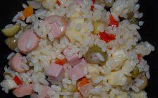 Come fare l'insalata di riso con il bimby con la ricetta facile