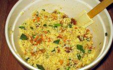 La ricetta dell'insalata di riso con maionese e verdure fresche