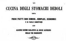 Il dottor Angelo Dubini e il libro dedicato alla cucina semplice ed economica