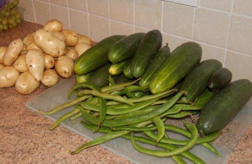 Come fare l'insalata di cetrioli e patate con la ricetta facile
