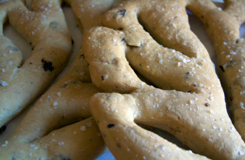 La ricetta della fougasse francese alla vegetariana