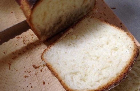 La ricetta del pane con la farina di riso da fare con la macchina del pane