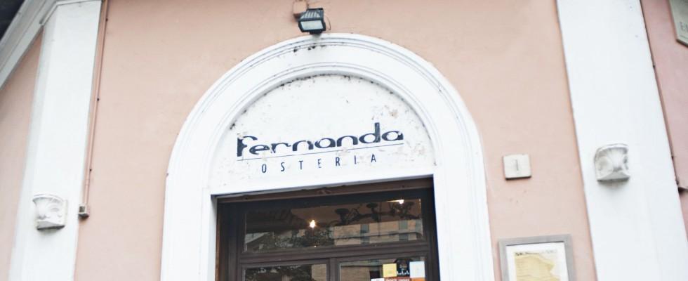 Osteria Fernanda, Roma