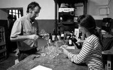 Giovanna e il vino naturale a Pacina