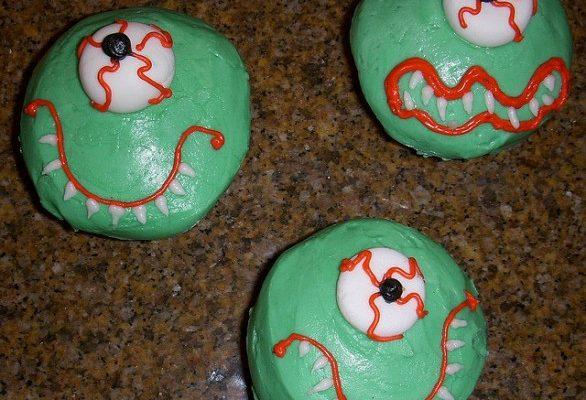 Ecco la ricetta dei cupcake mostruosi per Halloween
