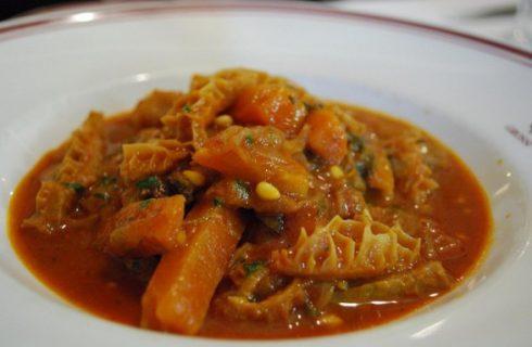 Ecco la trippa alla fiorentina per un gustoso secondo piatto tradizionale