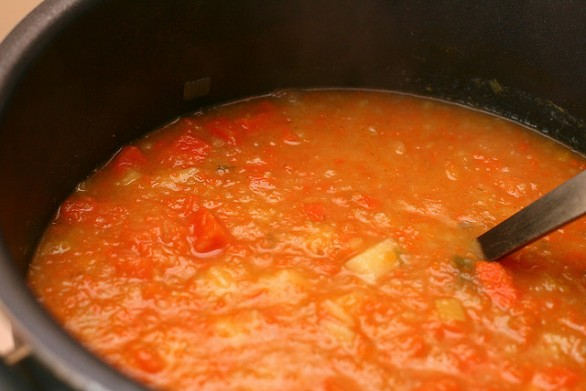 Zuppa di patate e carote con la ricetta facile