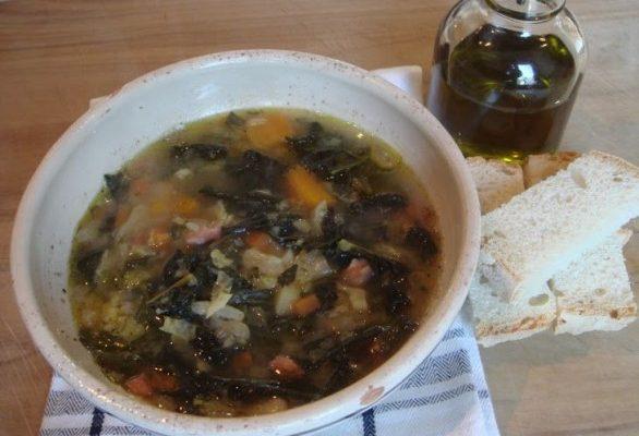 La zuppa alla frantoiana con la ricetta toscana