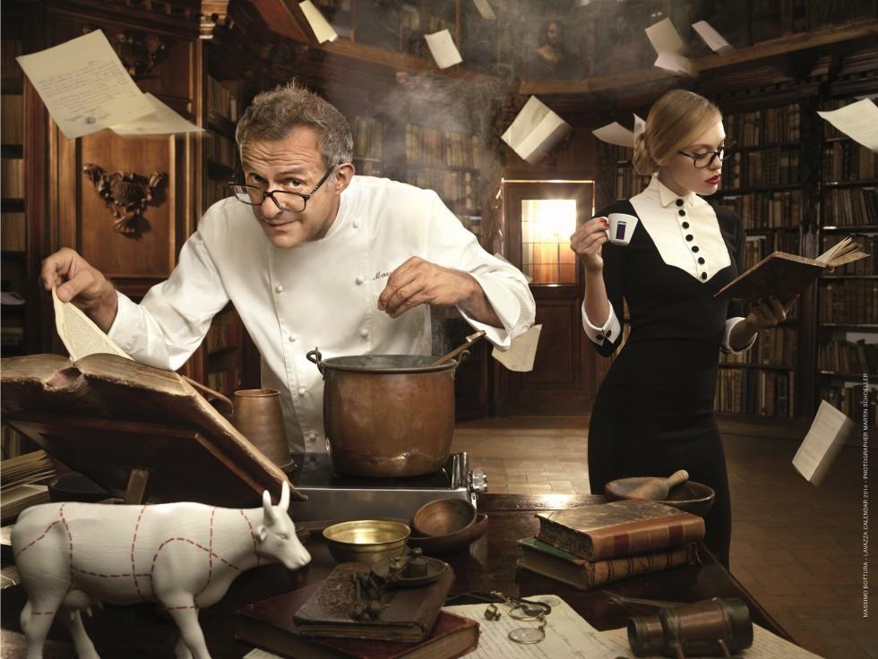 Calendario Lavazza 2014: cosa ispira i grandi chef? - Foto 1
