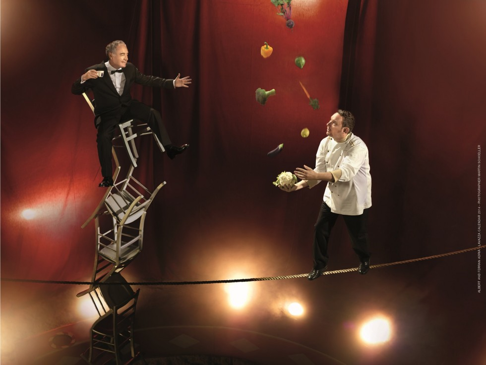 Calendario Lavazza 2014: cosa ispira i grandi chef? - Foto 6