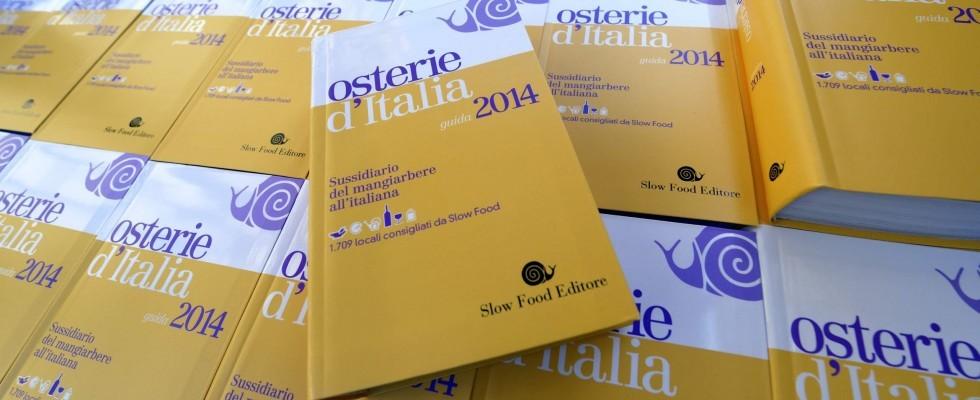 Guida alle osterie d'Italia 2014: ecco le novità