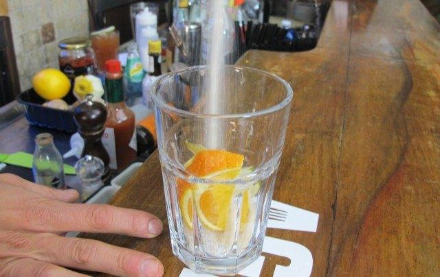 Rum Cooler step1