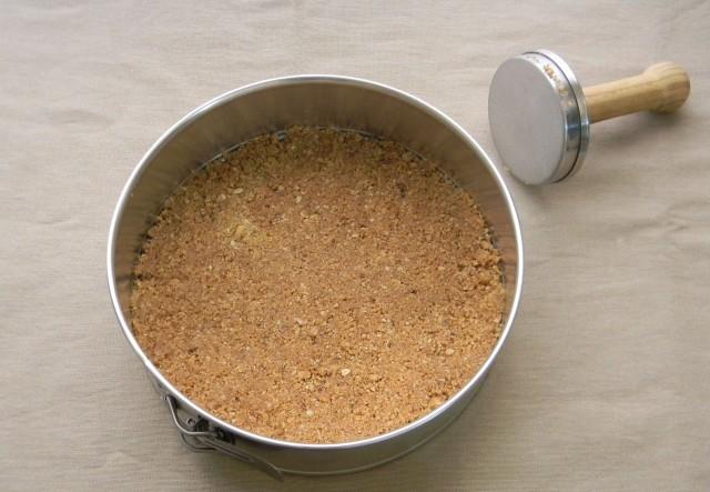 La base della cheesecake