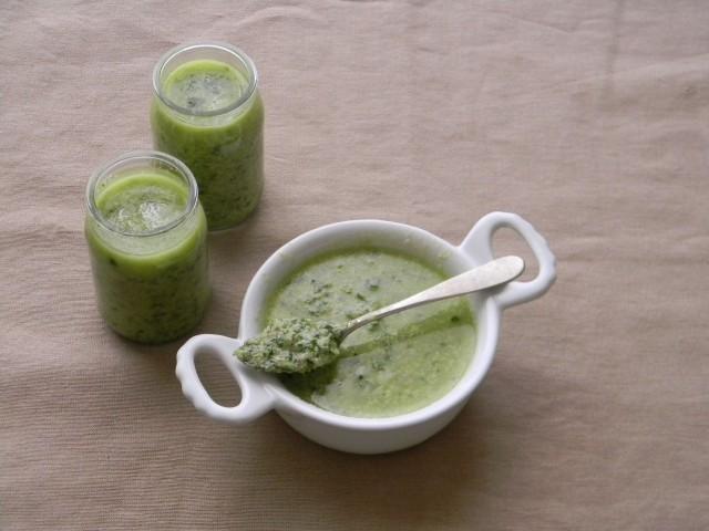 Salsa verde per le polpette di baccalà