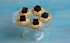 Tartellette crema e cioccolato
