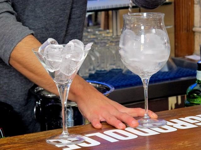 Vodka Martini step 1