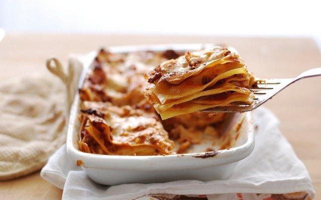 Le lasagne sono pronte