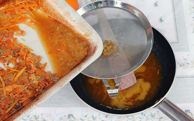 La salsa all'arancia
