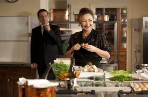 Il primo menu preparato da Hortense in La cuoca del presidente