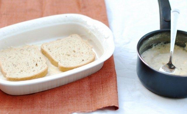 Il pane ammorbidito con il latte