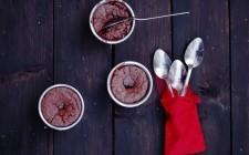 I tortini al cioccolato fondente sono pronti