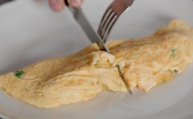 Omelette è pronta