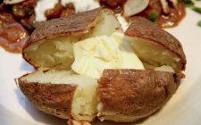 Patate ripiene al forno con la ricetta americana