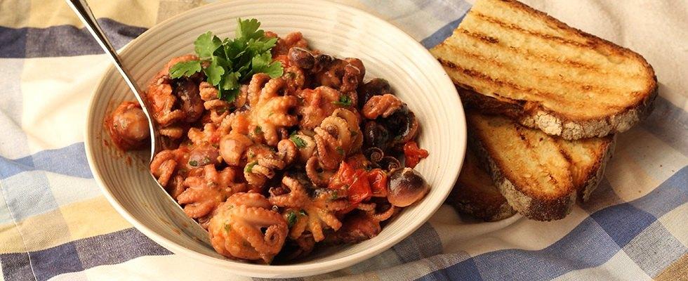 Polipetti alla Luciana: ricetta campana per polpi e moscardini | Agrodolce