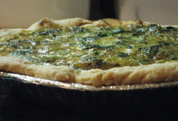 La quiche ricotta e spinaci con la ricetta semplice