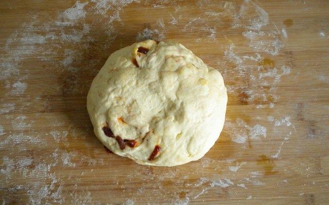 Impasto per pane al formaggio