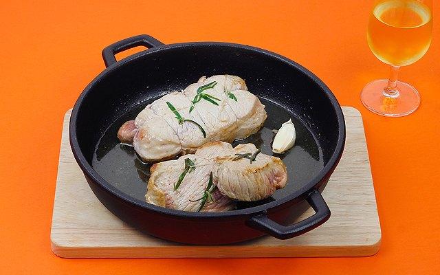 La carne in cottura