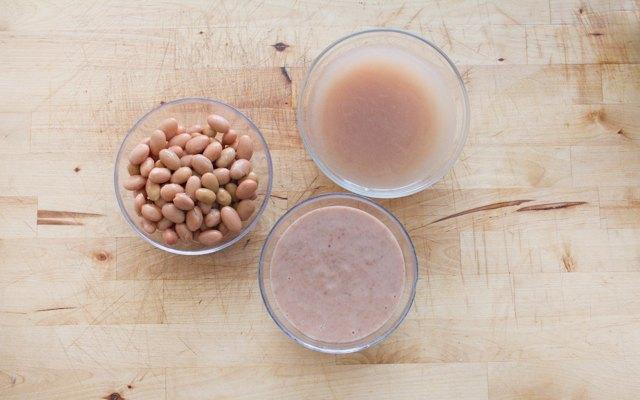 Cottura dei fagioli per la minestra