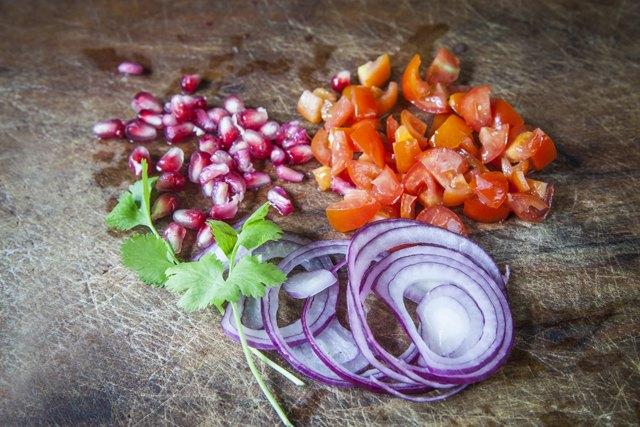 Ingredienti per le capesante marinate