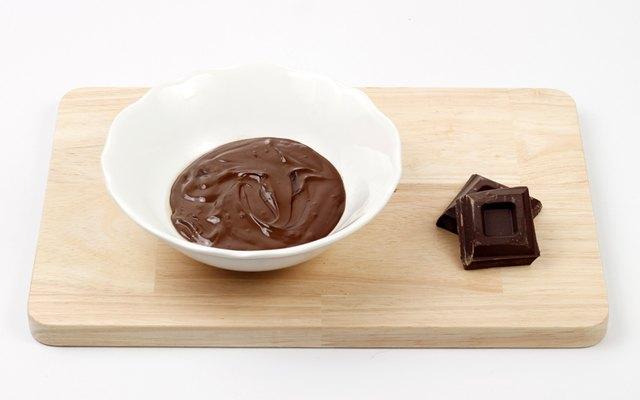 Cioccolato fuso per i baci di dama