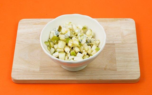 Pere e gorgonzola per la zucca speziata
