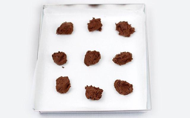Cookies pronti da infornare