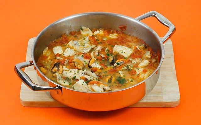 Cozze, vongole e filetti di pesce