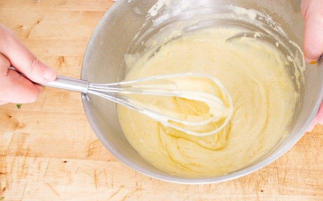 Preparazione della crema