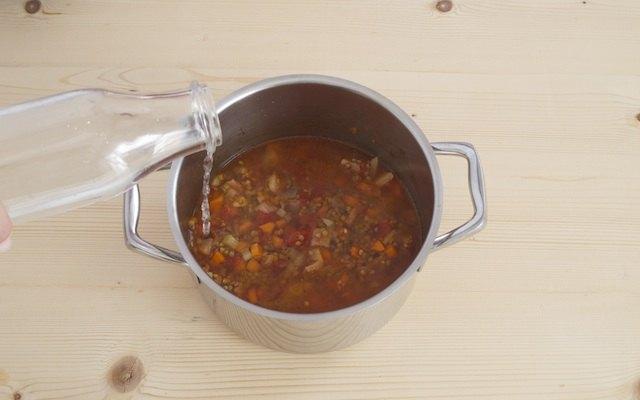 Cottura lenticchie