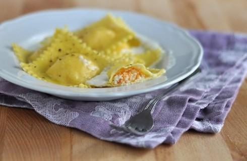 Tortelli di zucca e patate