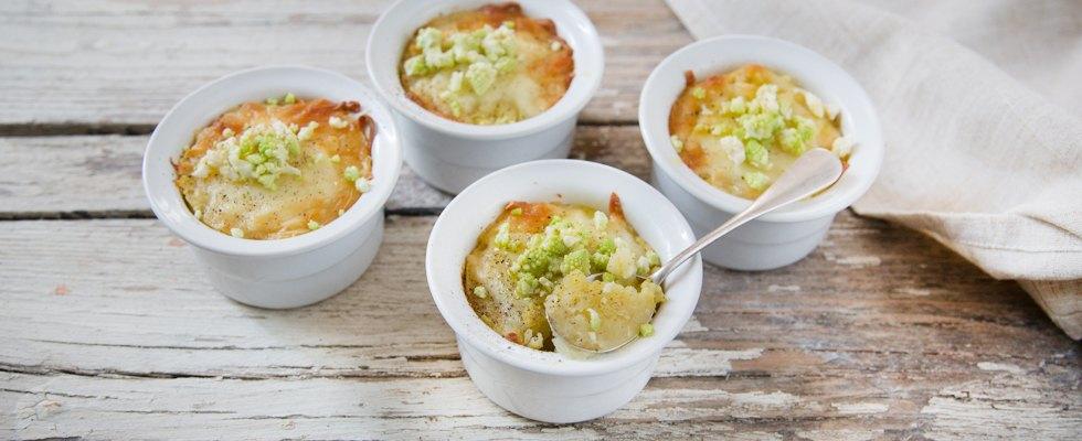 Terrina di patate, broccolo e fontina