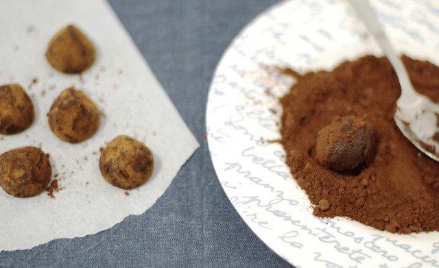 I tartufi ricoperti di cacao