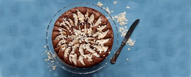 La torta di pere e cioccolato è pronta