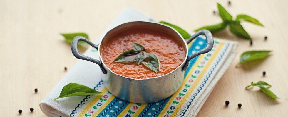 Zuppa di pomodoro senza panna