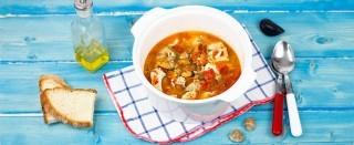 Zuppa di pesce misto