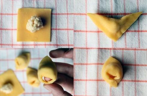 La realizzazione dei cappelletti